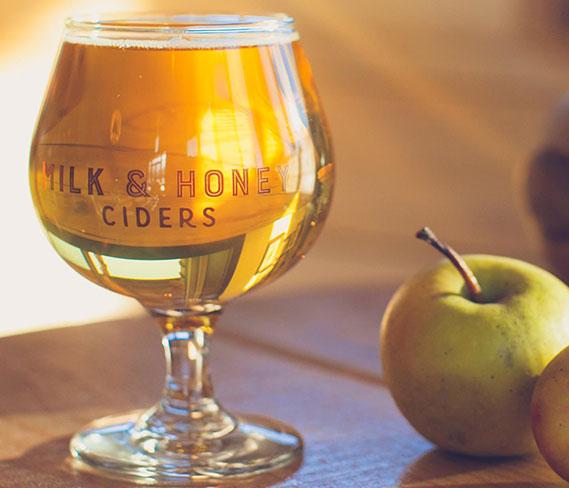 we carry milk and honey cider company cider